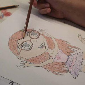 Cours de dessin avec Florence